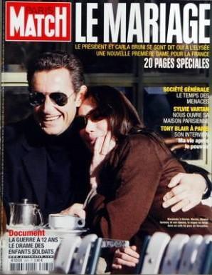 46 2 Fevrier 2008 Nicolas Sarkozy Et Carla Bruni Se Marient Planet