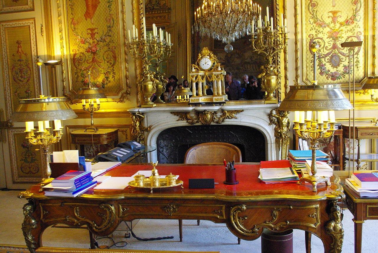 Salon doré de l'Elysée : plus de 900 000 euros dépensés pour refaire la déco