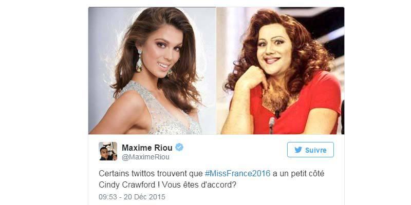 Election Miss France 2016 : 10 meilleurs tweets de la soirée !