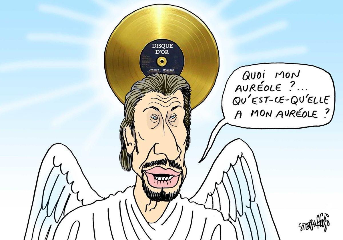 Deces De Johnny Hallyday Les Dessins De Presse Rendent Hommage Au Chanteur