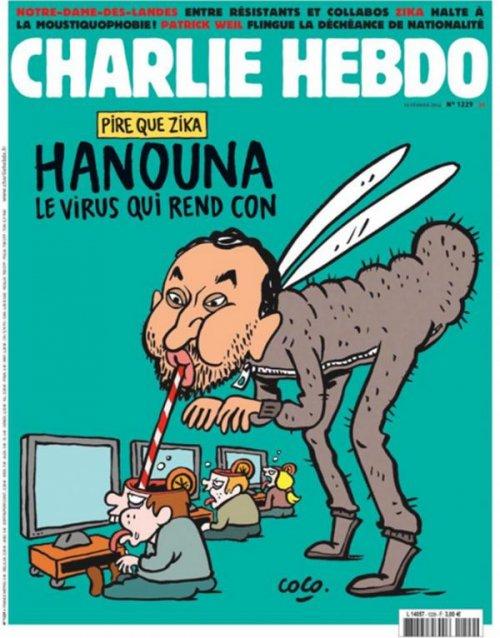 Cyril Hanouna répond avec humour à sa caricature dans Charlie Hebdo