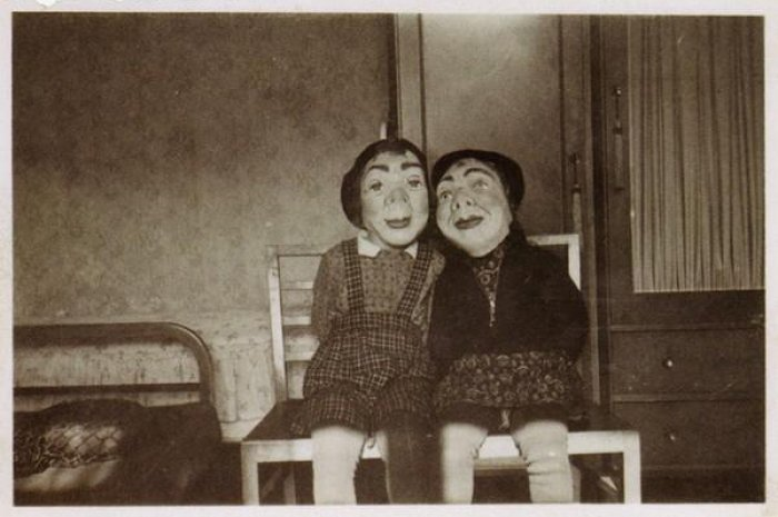 Effrayant : Halloween il y a 100 ans en images...