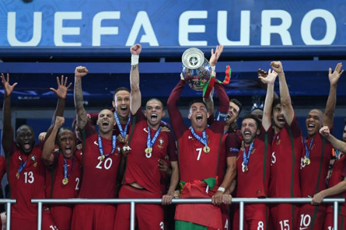 Le Portugal, champion d'Europe