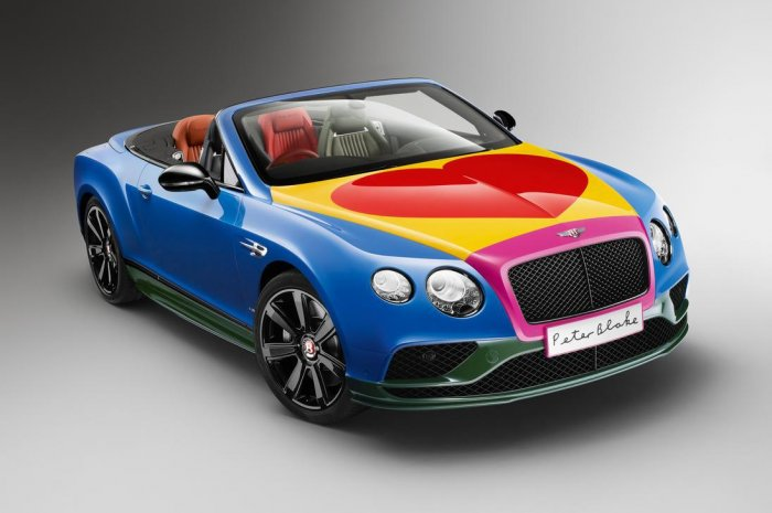 La Bentley Continental GT V8 S Pop art