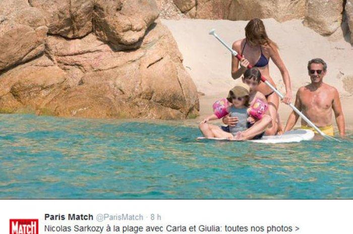Vacances En Famille Pour Carla Et Nicolas Sarkozy Planet