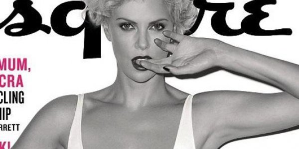 Charlize Theron torride pour Esquire