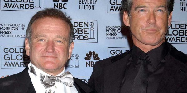 PHOTO Pierce Brosnan : son émouvant hommage à Robin Williams, qui aurait eu 69 ans