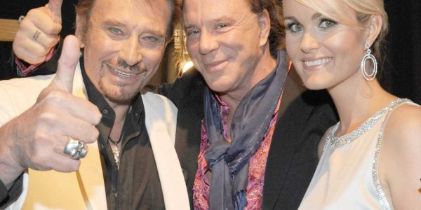 PHOTO Anniversaire de Johnny Hallyday : Mickey Rourke lui rend un touchant hommage