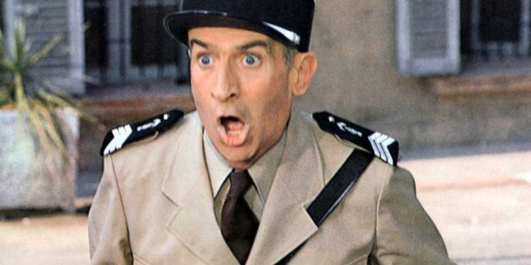 Louis de Funès (Le gendarme à New York, M6) : ses grimaces les plus cultes ! (PHOTOS)