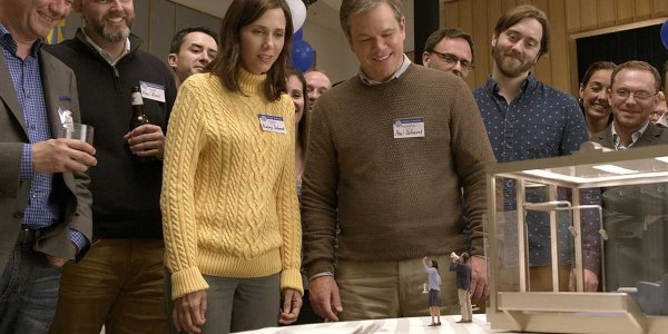 Downsizing (6ter) : Matt Damon, petit par la taille, mais grand par le talent, dans une fable barrée