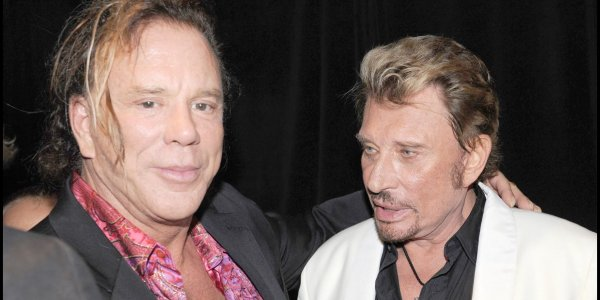 Johnny Hallyday : le touchant message de son ami Mickey Rourke pour son anniversaire