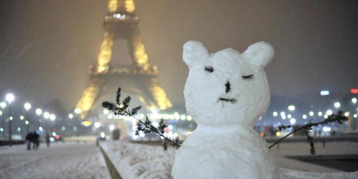Météo en Seine-et-Marne. Froid et neige font leur apparition
