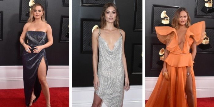 Photos. Tenues extravagantes et robes fendues : les looks sexy des stars aux Grammy Awards 2020