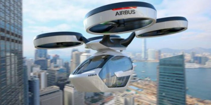 "PHOTOS. Airbus dévoile ""Pop.Up"", sa voiture volante du futur !"