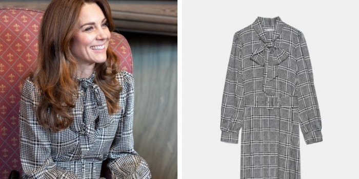 Photos : Kate Middleton et sa robe Zara à 50 € en rupture de stock