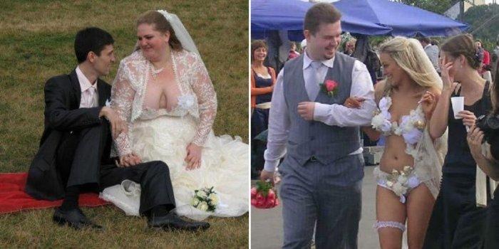 Voici sans doute les pires robes de marié