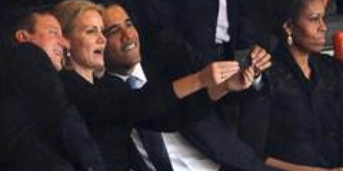 La photo d'Obama et Cameron, la nouvelle Miss France, Sarkozy et Hollande réunis... Les photos de la semaine