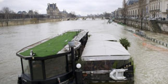PHOTOS La Seine déborde à Paris