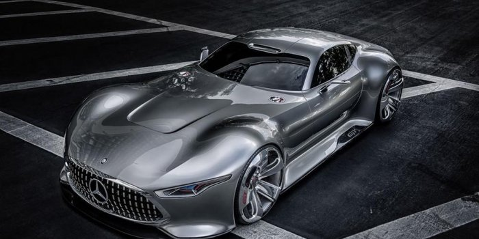 Photos : la concept-car Mercedes Benz AMG Vision Gran Turismo Racing Series