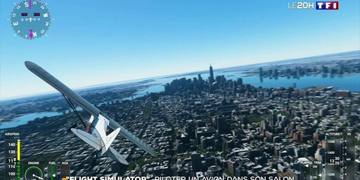 """Flight simulator"" : piloter un avion dans son salon"
